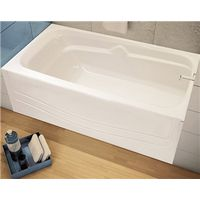 Avenue 105524-000-001L Alcove Bathtub