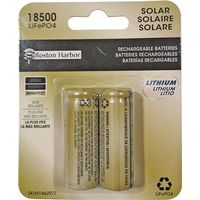 Boston Harbor BTLP185001000D2 Replacement LiFePO4 Solar Battery