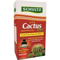 FERTILIZER LIQUID CACTUS 4OZ