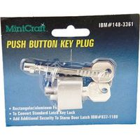 Mintcraft JF06160 Rectangular Push Button Key Lock
