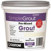 GROUT PREMIXED BRIGHT WHT 1QT