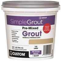 GROUT PREMIXED LINEN 1QT