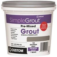 GROUT PREMIX DELOREAN GRAY 1QT