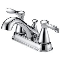 FAUCET LAV 4IN 2HNDL LEVER CHR