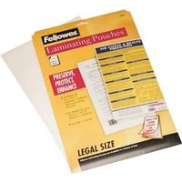 Fellowes 52006 Legal Size Laminating Sheet
