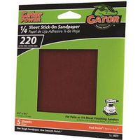 Gator 4072 Stick-On Resin Bonded Power Sanding Sheet