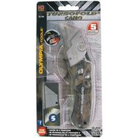 KNIFE FOLDING CAMO UTILITY GRN