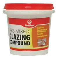 Red Devil 0662 Pre-Mixed Glazing Compound