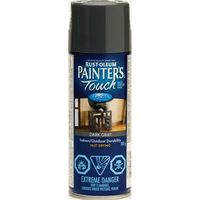 PAINT SPRAY MP DARK GRAY 340G