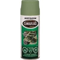PAINT SPRAY CAMO ARMY GRN 340G