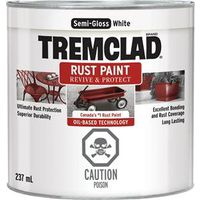 PAINT RUST OBS SG WHITE 237ML