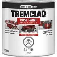 PAINT RUST OBS SG BLACK 237ML
