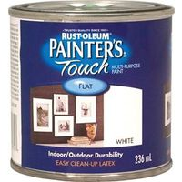 PAINT ACRYLIC FLAT WHITE 236ML