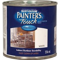 PAINT ACRYLIC LTX SG WHT 236ML