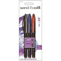 PEN ROLLERBALL ASST COLOR 3PK
