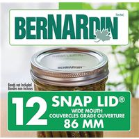 Bernardin 01302 Wide Mouth Snap Lid