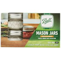 Elite Ball Wide Mouth Mason Jar