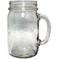 Golden Harvest 41702 Plain Mason Jar Drinking Mug