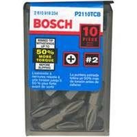 Bosch P2110TCB Insert Bit Set