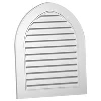 GABLE VENT 22X28IN CATHEDRAL
