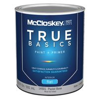 McCloskey True Basics 14501 Latex Paint