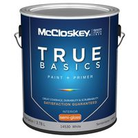 Mccloskey True Basics 14530 Latex Paint