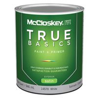 Mccloskey True Basics 14570 Latex Paint