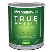 Mccloskey True Basics 14573 Latex Paint
