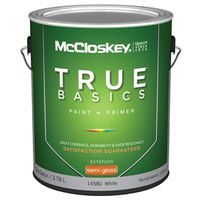 Mccloskey True Basics 14580 Latex Paint