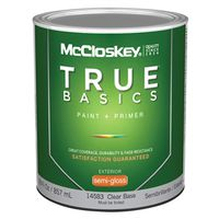 Mccloskey True Basics 14583 Latex Paint