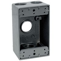 Teddico/BWF 1504-1 Weatherproof Electrical Outlet Box
