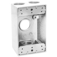 Teddico/BWF 1504W-1 Weatherproof Electrical Outlet Box