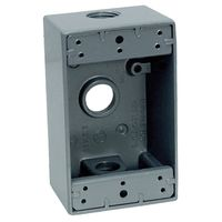 Teddico/BWF 1753-1 Weatherproof Electrical Outlet Box