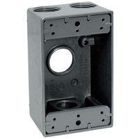 Teddico/BWF 1754-1 Weatherproof Electrical Outlet Box