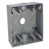 Teddico/BWF 2530 Weatherproof Electrical Outlet Box