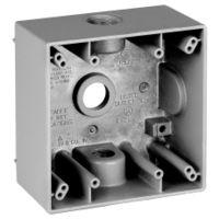 Teddico/BWF 2504-1 Weatherproof Electrical Outlet Box