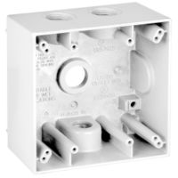 Teddico/BWF 2504W-1 Weatherproof Electrical Outlet Box