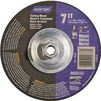 Norton 7660702678 Type 27C Depressed Center Grinding Wheel
