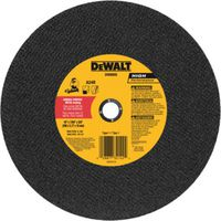 DeWalt DW8005 Flat Type 1 Saw Wheel