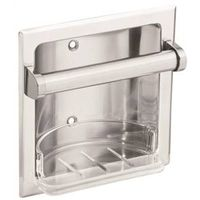 Donner Donner Commercial Soap Holder With Clear Removable Tray