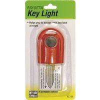 Hy-Ko KC166 Multi-Colored Push Button Key Light