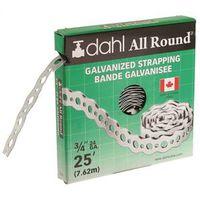 STRAP GALV STL 24GA 3/4INX25FT
