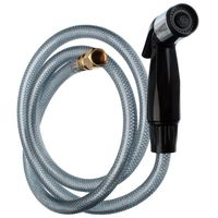 SPRAY HOSE/HEAD KITCHEN BLACK