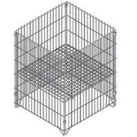 Southern Imperial R40-CLDB-SQK Square Wire Dump Bin