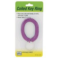 Hy-Ko KC152-CLIP Coiled Key Ring