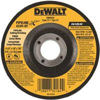 Dewalt DW8434 Pipeline Cutting/Grinding Wheel