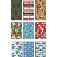 Santas Forest 68018  Gift Wrapping Paper