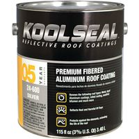Kool Seal KST020496-16 Aluminum Roof Coating