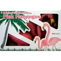 FLAMINGOS PLASTIC DISPLAY 2PK