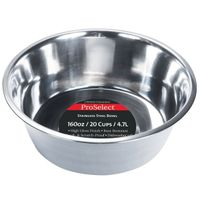 DISH STAINLESS STEEL 5QT